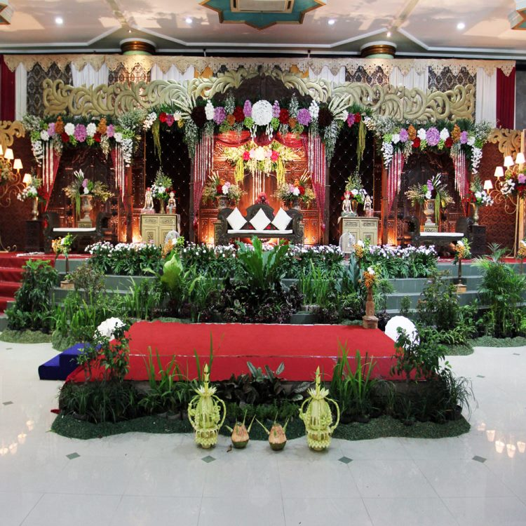 dekorasi pernikahan tradisional jawa