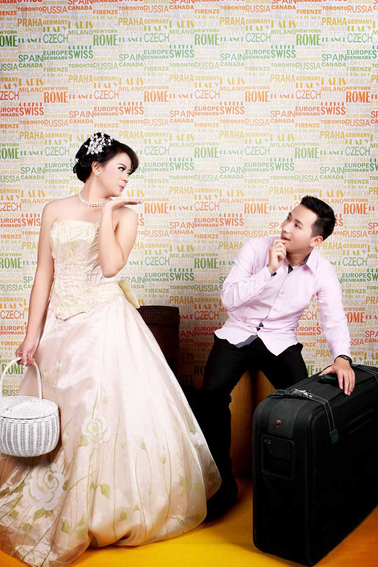 aksesoris prewedding indoor