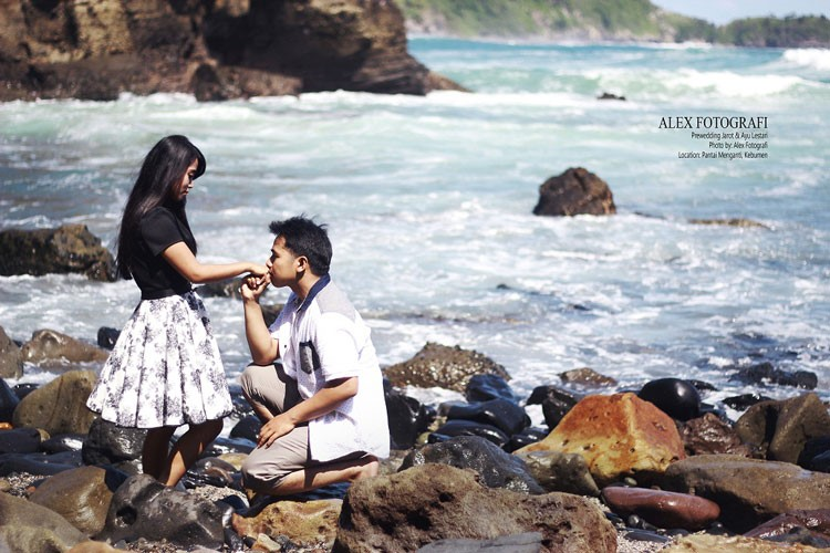 prewedding casual outdoor korea