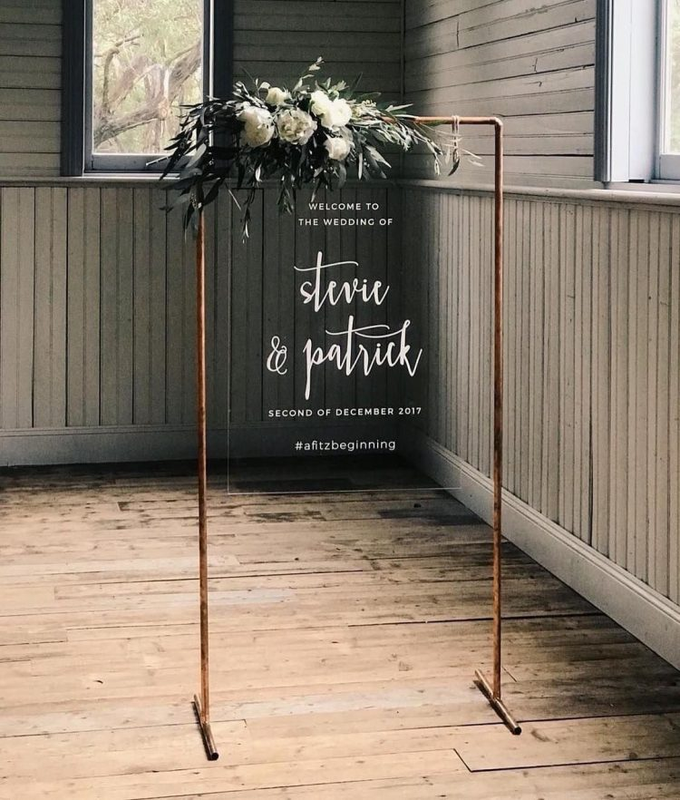 wedding banner with cricut