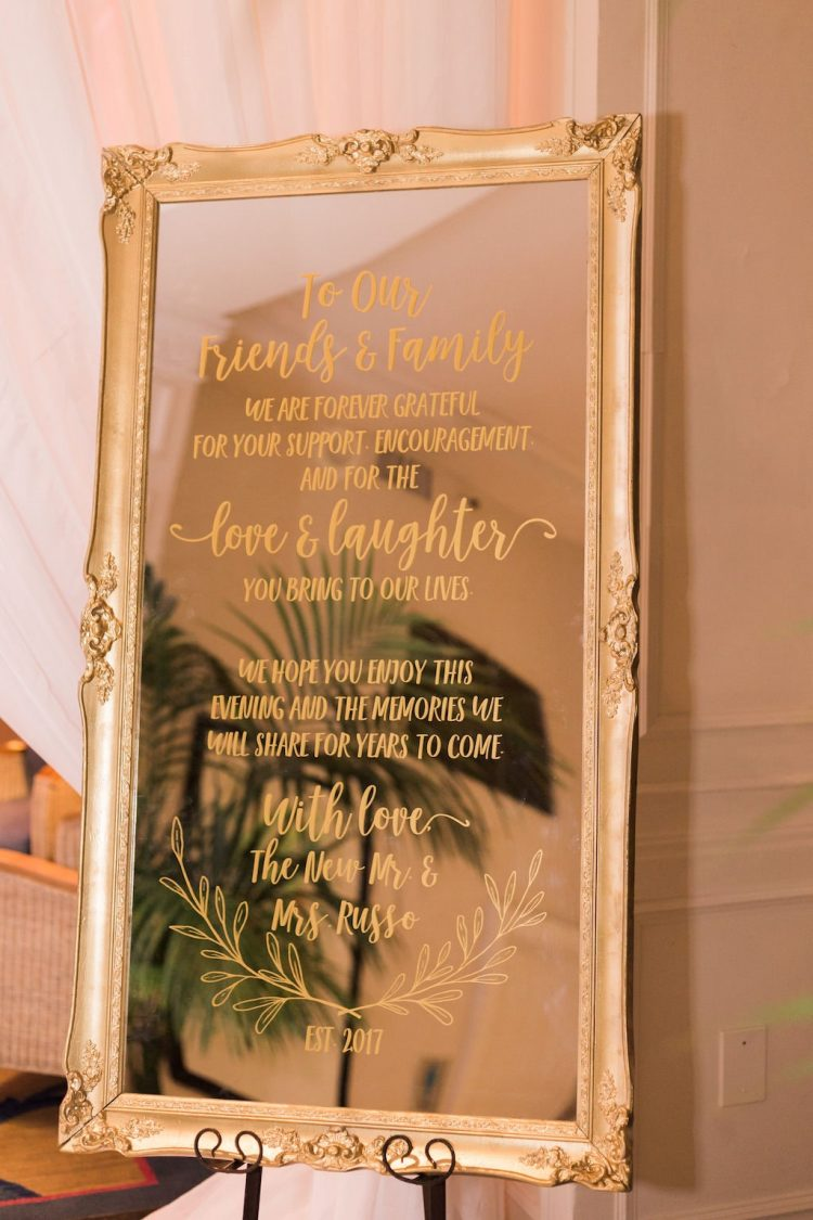 x banner wedding design