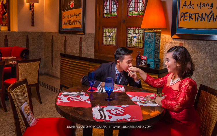 konsep prewedding indoor ala korea