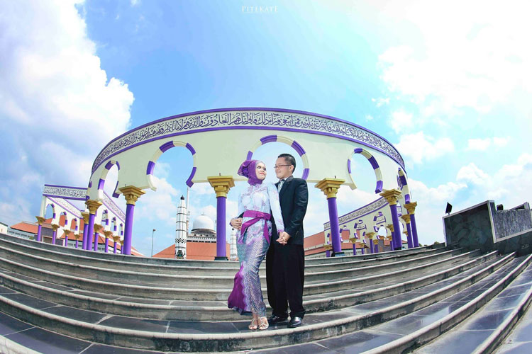 konsep prewedding simple elegan